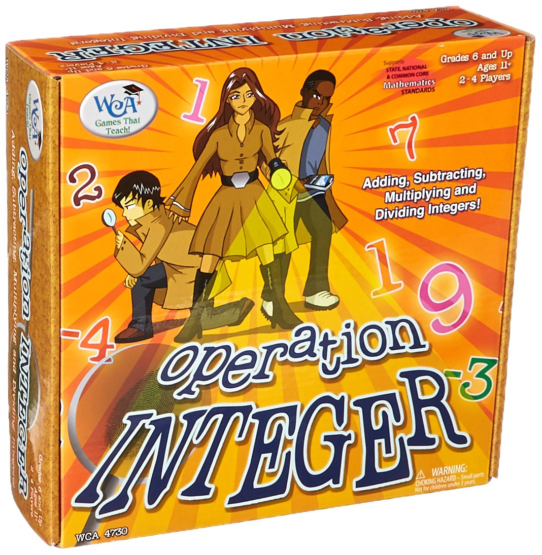 operation integer game for kids classroom teacher activities