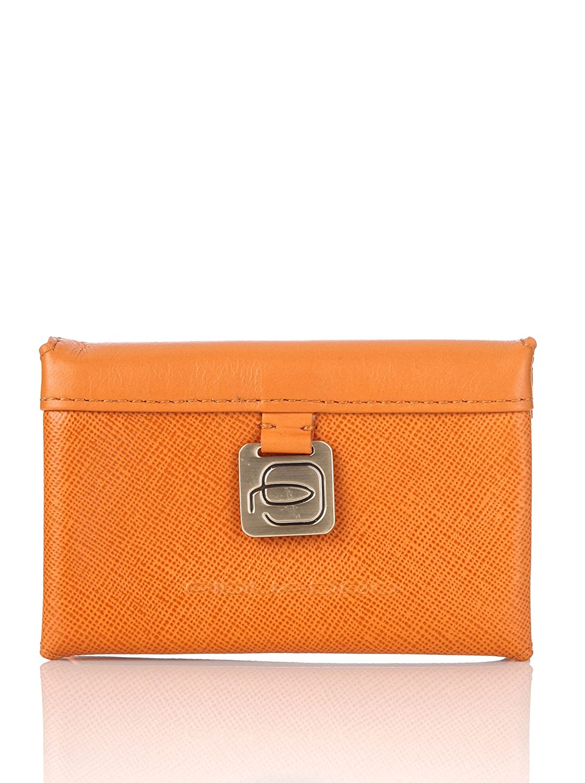 Piquadro Visitenkartenetui Crayon Orange Amazon De Schuhe