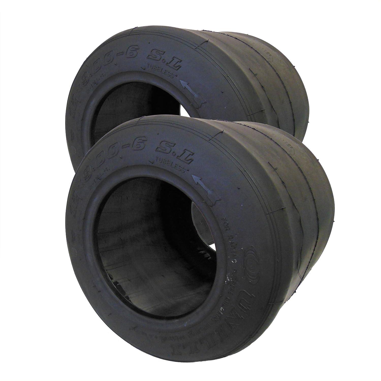 Set of 2, 6 Unilli Racing SL Slick Tire (12 x 9.00-6) BMI Karts