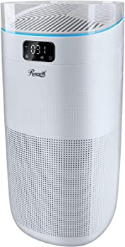 Rosewill Active UV Light with Carbon Filter True HEPA Air Purifier