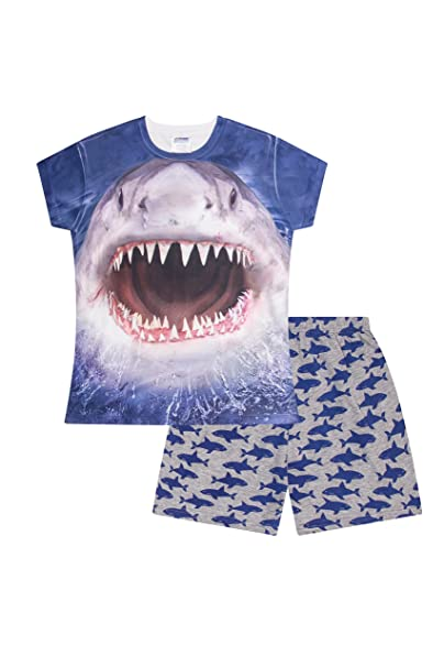 The Pyjama Factory - Pijama Dos Piezas - para niño Azul Azul 7-8 Años