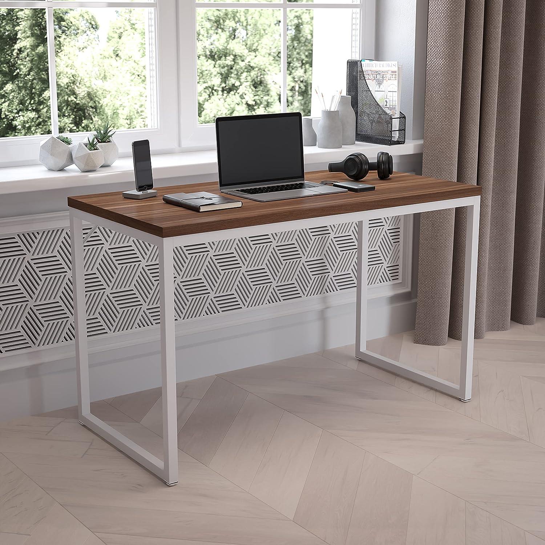 Flash Furniture Tiverton Industrial Modern Desk - Commercial Grade Office Computer Desk and Home Office Desk - 47