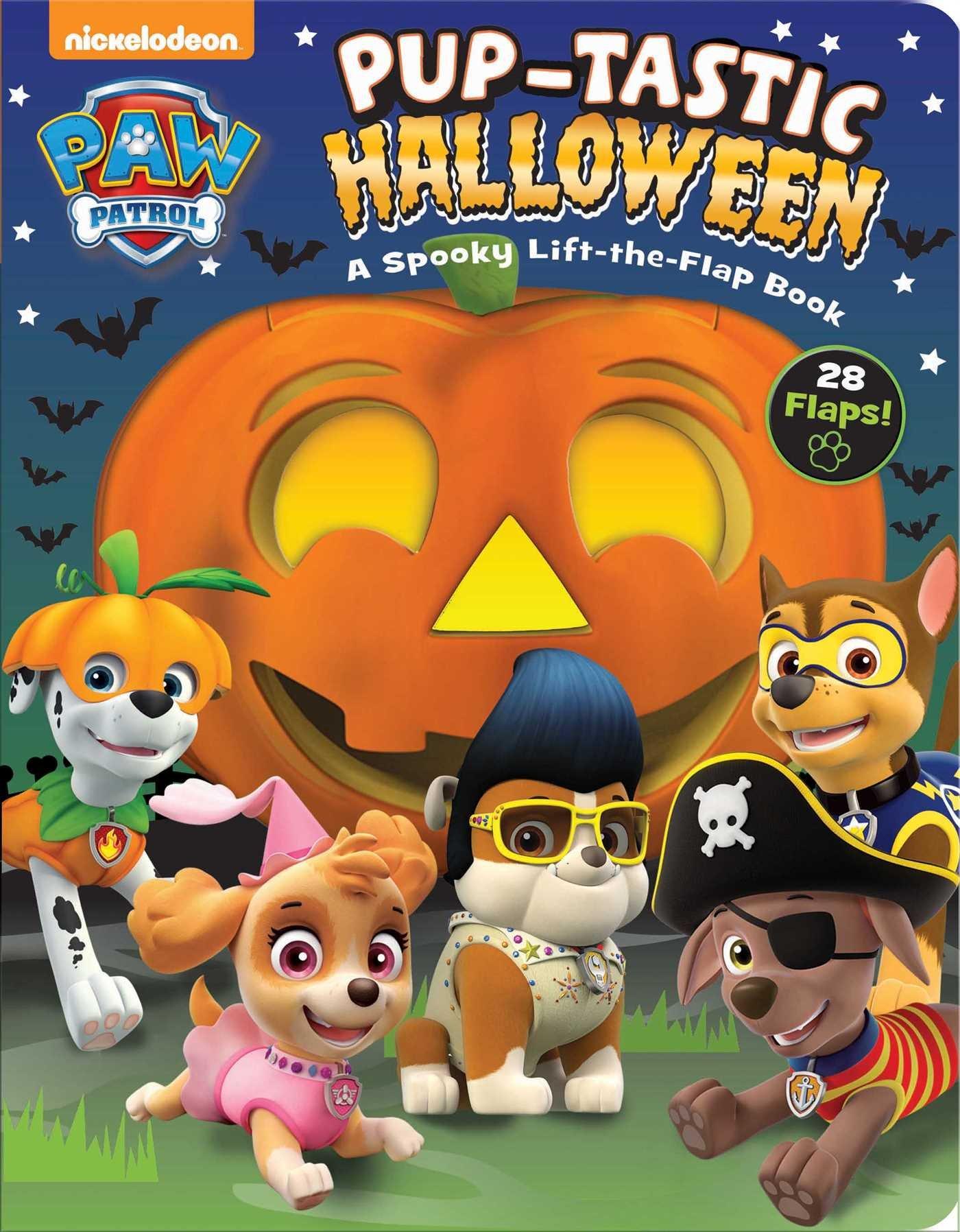 PAW Patrol: Pup-tastic Halloween: A Spooky Lift-the-Flap Book pdf
