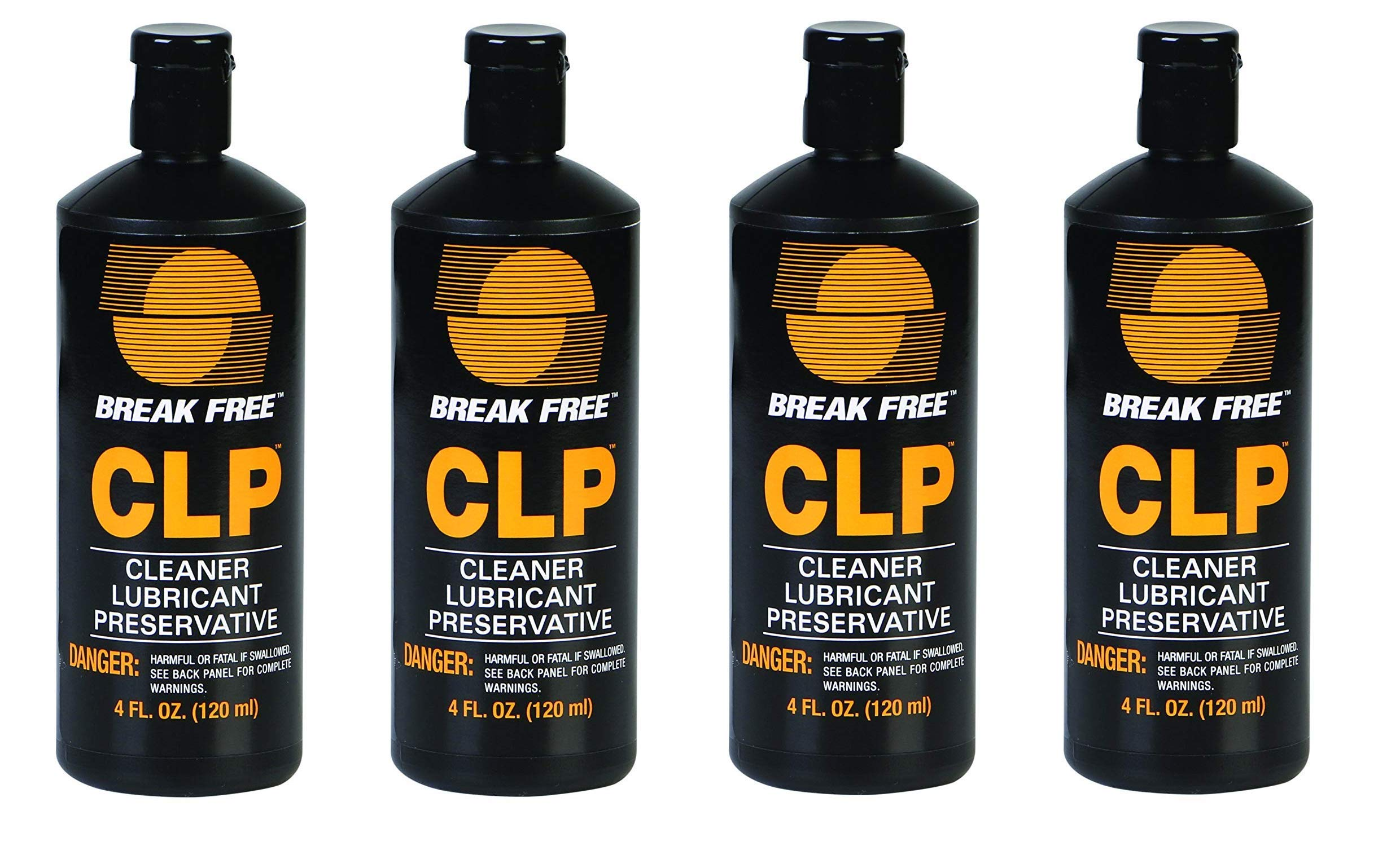 BreakFree CLP-4 Cleaner Lubricant Preservative Squeeze Bottle (4 -Fluid Ounce) (Fоur Paсk)