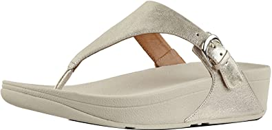 f190689d5 Image Unavailable. Image not available for. Colour  FitFlop Women s Skinny  Toe Thong Sandals ...