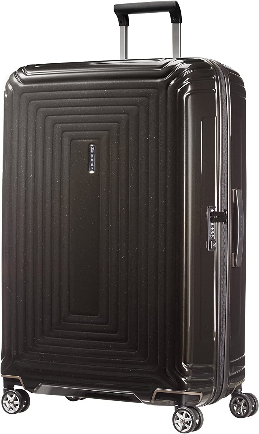 Samsonite Neopulse - Spinner L Maleta, 75 cm, 94 L, Negro (Metallic Black)