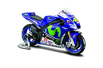 moto yamaha bike. Maisto M31589 1:18 Scale \u0026quot;Valentino Rossi\u0027s 2015 Fiat Yamaha Moto Gp Bike\u0026quot Bike