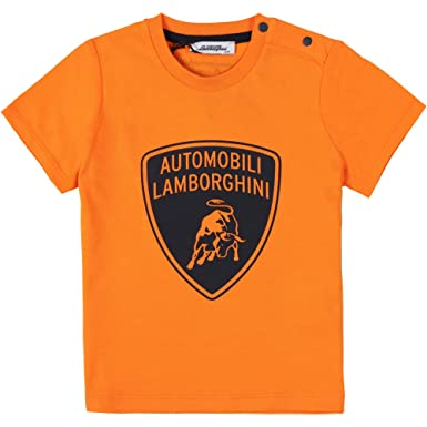 Lamborghini Kids Automobili Lamborghini Toddler T Shirt 6 Months Orange  Orange