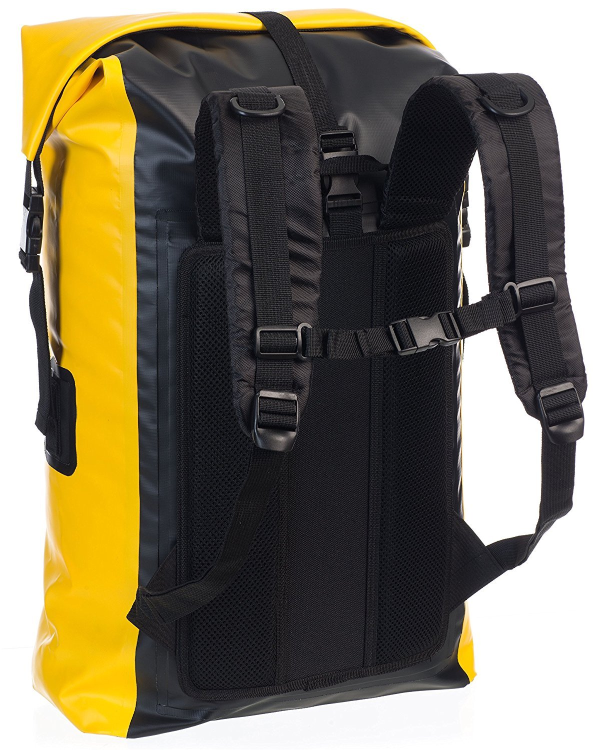 a7c5c29931b7 Earth Pak Waterproof Backpack  35L    55L Heavy Duty Roll-Top Closure with  Easy Access ...