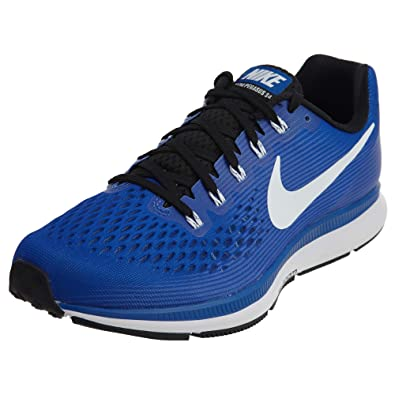 separation shoes 6a9a0 f3128 Amazon.com   NIKE Men s Air Zoom Pegasus 34 TB Game Royal White Black  Running Shoe 11   Running