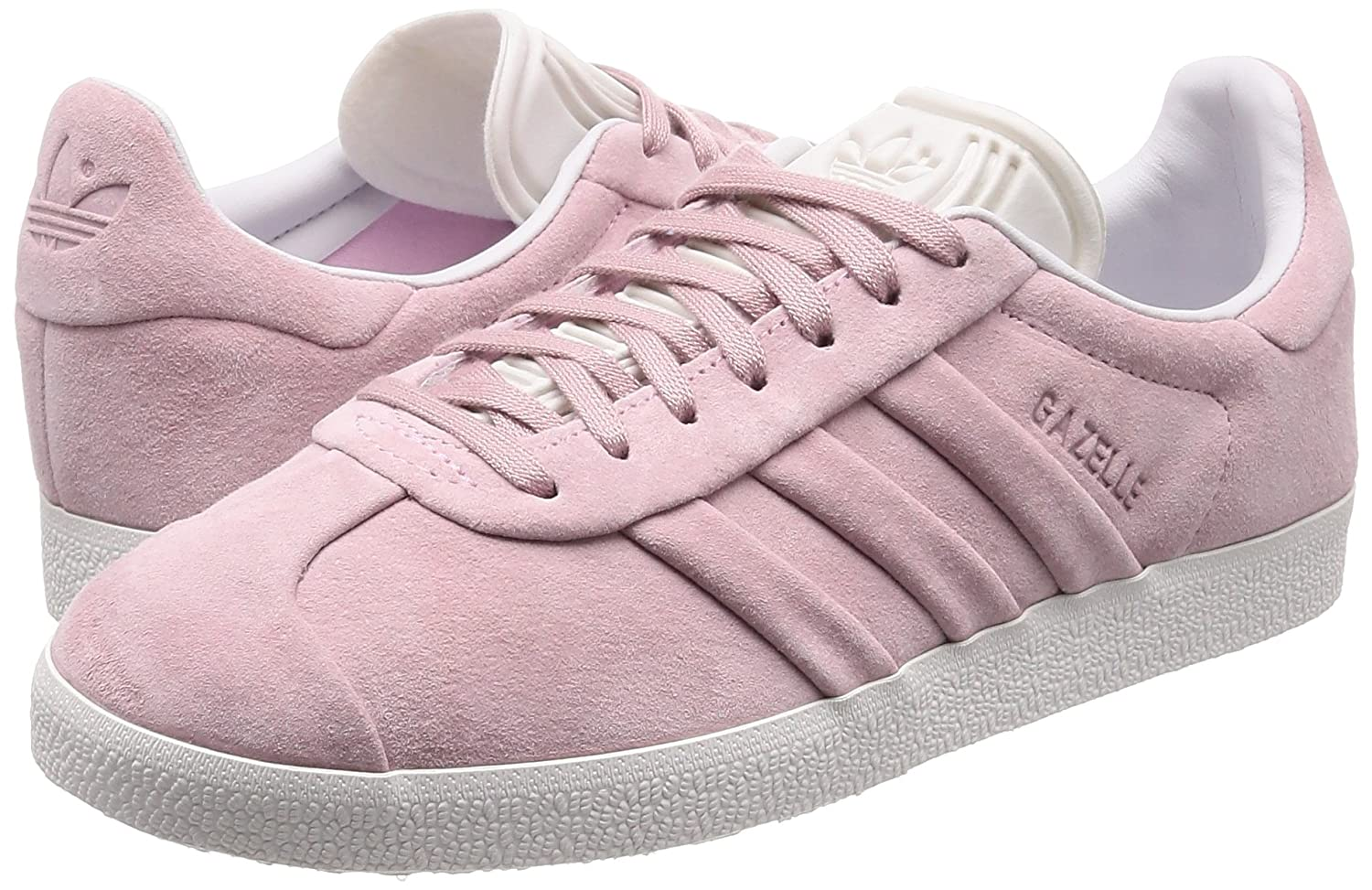 on sale 3f471 2d484 Amazon.com  adidas Gazelle Stitch and Turn W Womens Trainers Pink - 6 UK   Fashion Sneakers