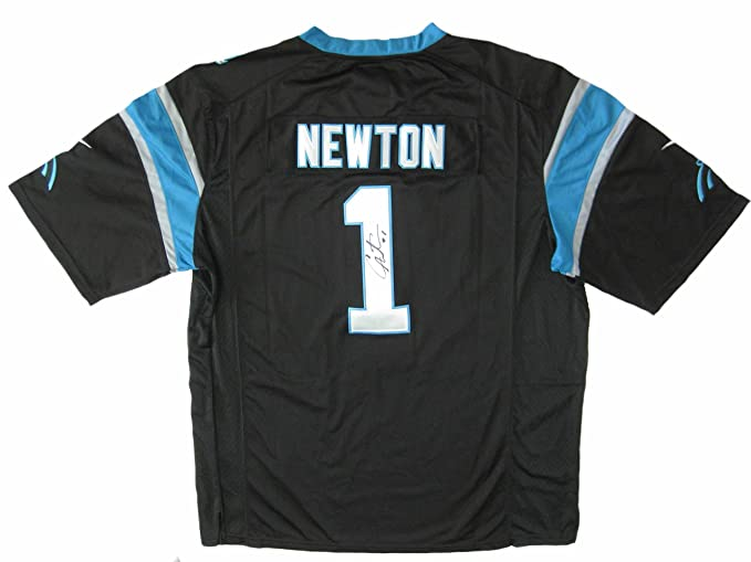 new style b7113 22f97 Amazon.com: Cam Newton Carolina Panthers, Signed ...