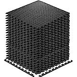Walsai Exercise Mats Puzzle Foam Mats Gym Flooring Mat Cover 20 SQ.FT Interlocking Foam Mats with EVA Foam Floor Tiles for Ho