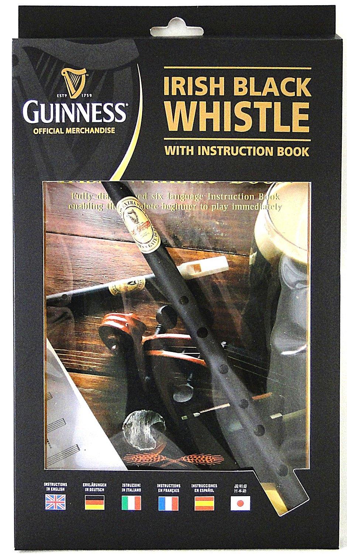 Guinness Irish Black Whistle Book/Instrument