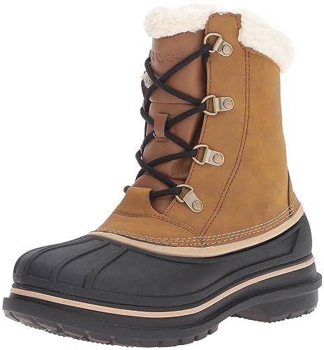 23de1f0dd8d1 Crocs Men s Allcast2bootm Snow Boot  Amazon.co.uk  Shoes   Bags