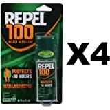 Repel 100 Insect Repellent, 1 oz. Pump Spray, 1 Bottle, 4 Ct