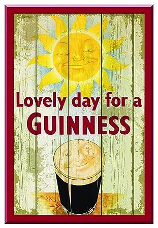Amazon.com: Guinness Sunny Pint Wooden Wallart: Posters & Prints