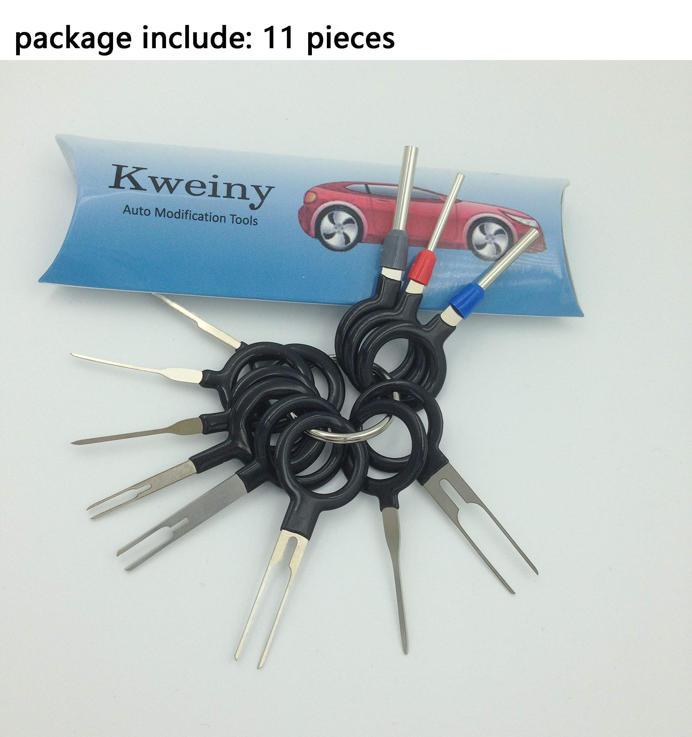 kweiny Auto Terminals Removal Key Tool Set | Car Electrical Wiring ...