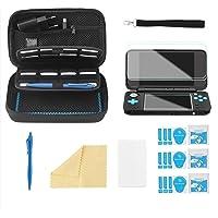 Bestico Funda Accesorios Kits para New Nintendo 2DS