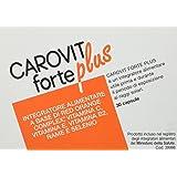 CAROVIT Forte Plus - Integratore alimentare a base di Red Orange Complex, 30 CPS