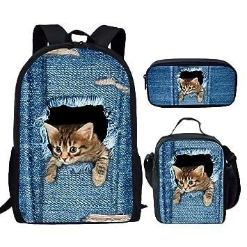 Amazon.com: showudesigns Set de mochila y pequeña bolsa de ...