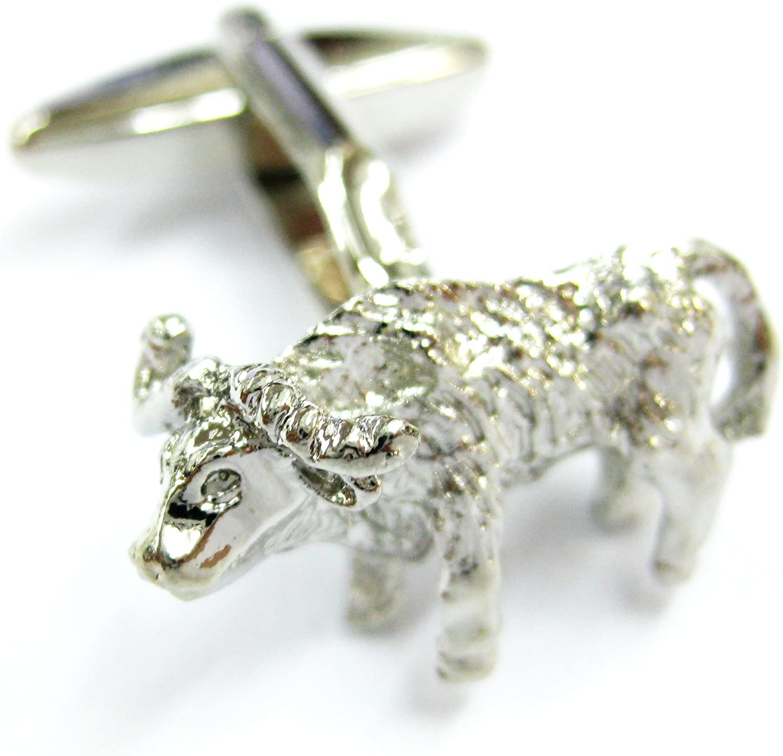 Tailor B Zodiac Taurus Star Sign Cufflinks Bull Cuff Links Astrology Gemelos