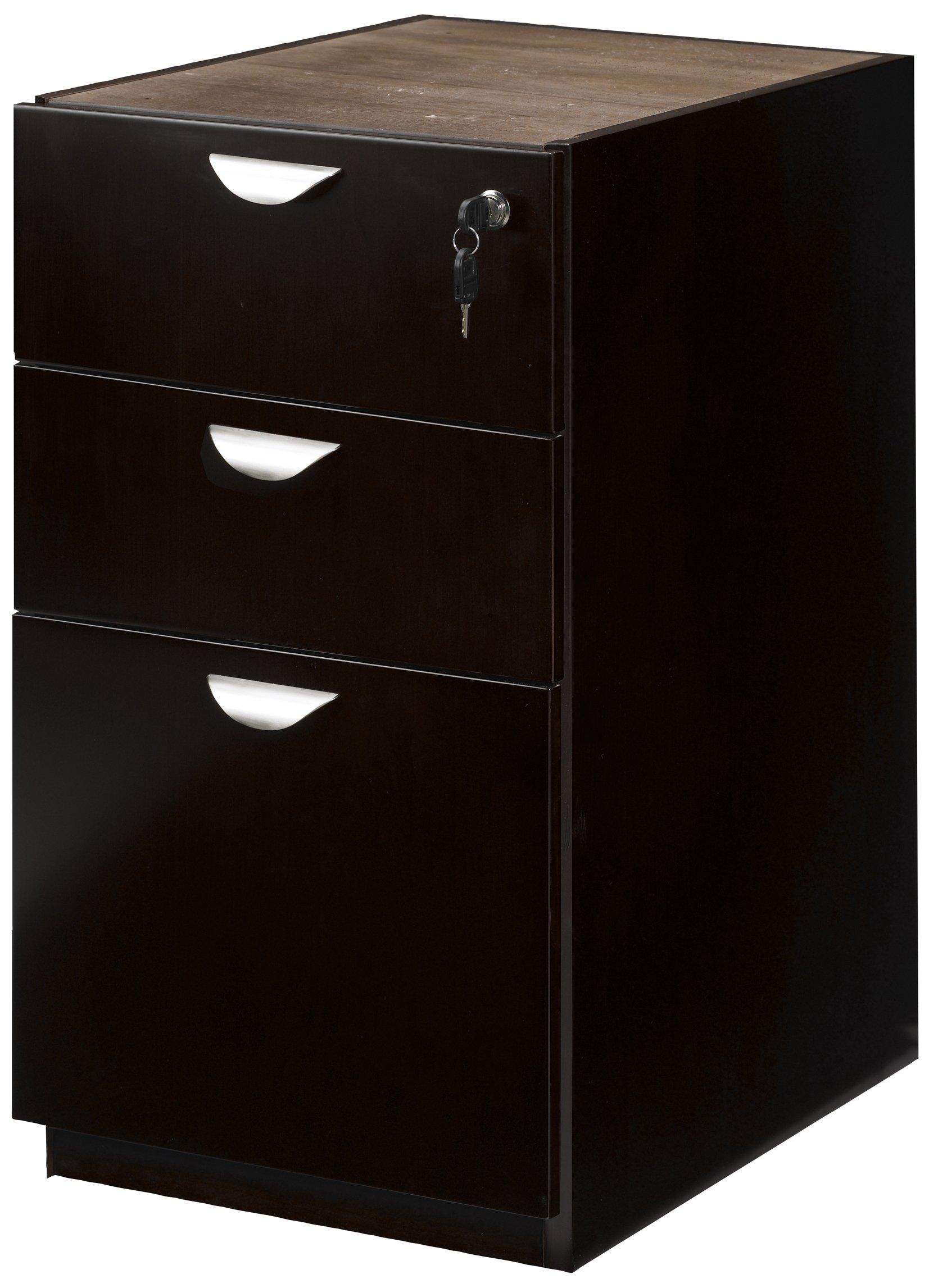 Mayline Mira Series Pedestal Files Box/Box/File for Desk,