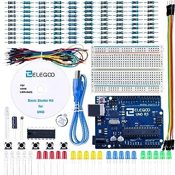 Amazon.com: Equipo inicial de proyectos básico Elegoo ...