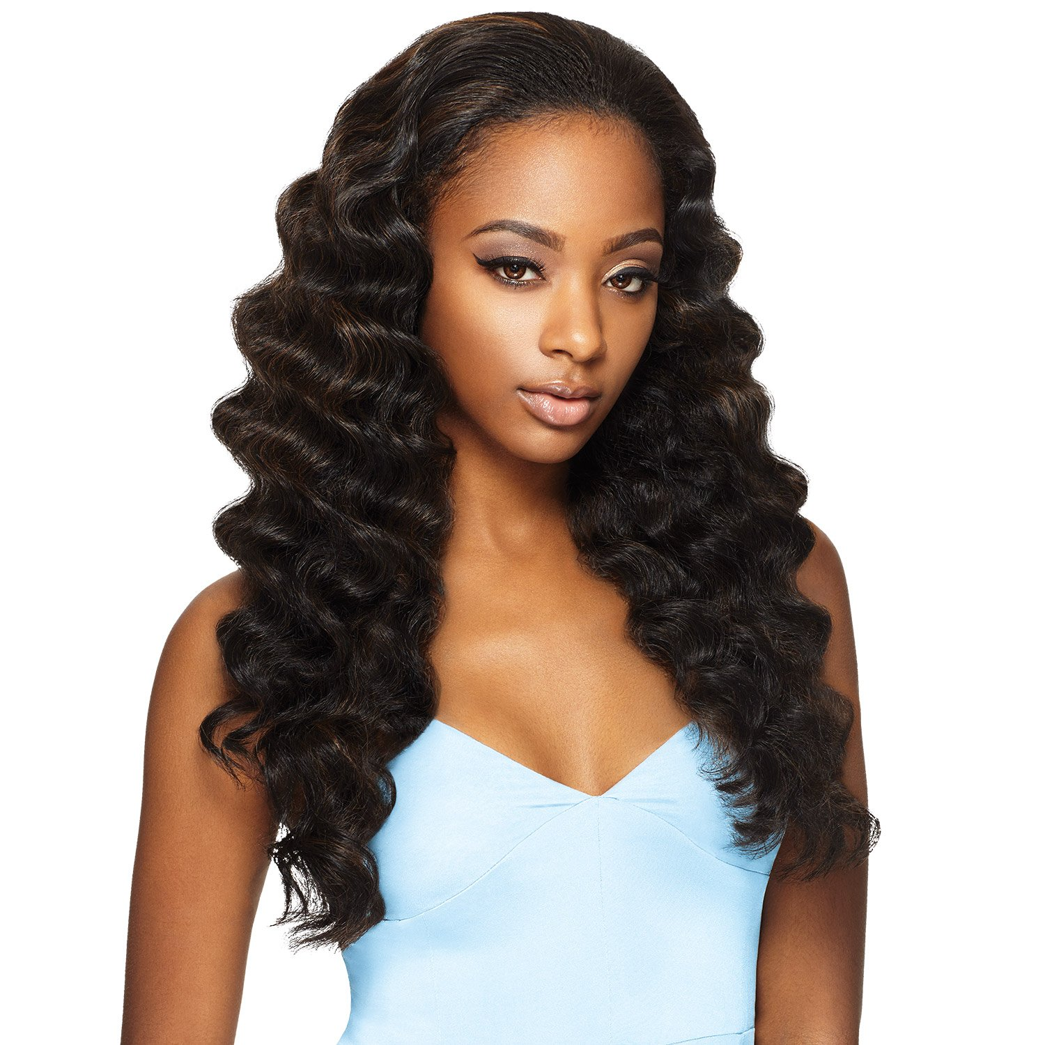 Amazon Outre Synthetic Hair Half Wig Quick Weave Ashani 1