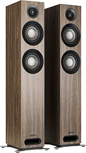 Jamo Studio Series S 807-WL Walnut Floorstanding Speakers – Pair