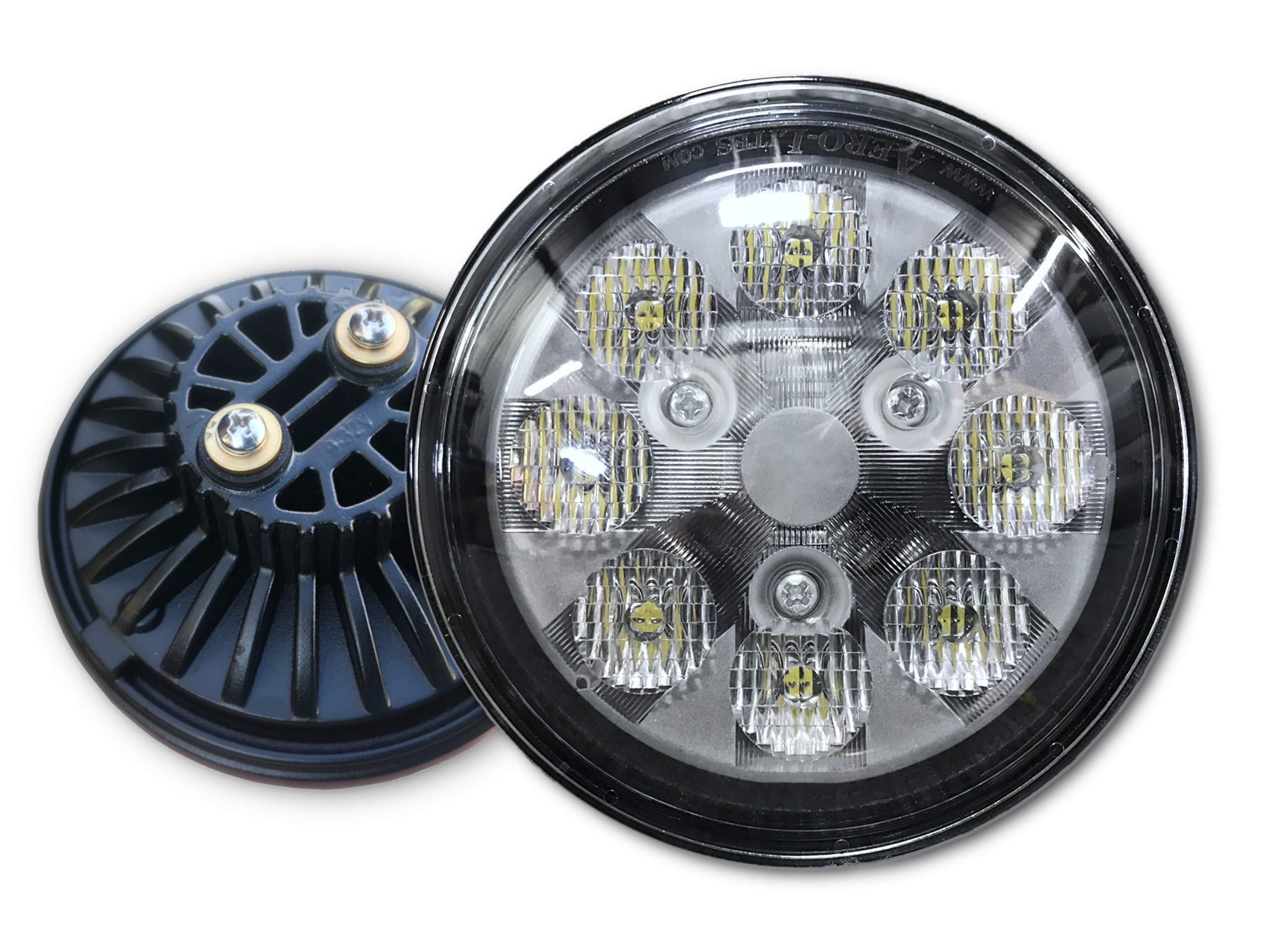 LED Taxi Light for Aircraft - Aero-Lites SunSetter + Plus PAR 36 40W 10-30VDC