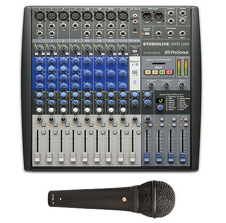 PreSonus Studiolive ar12 USB mesa de mezclas + RODE M1 Micrófono ...