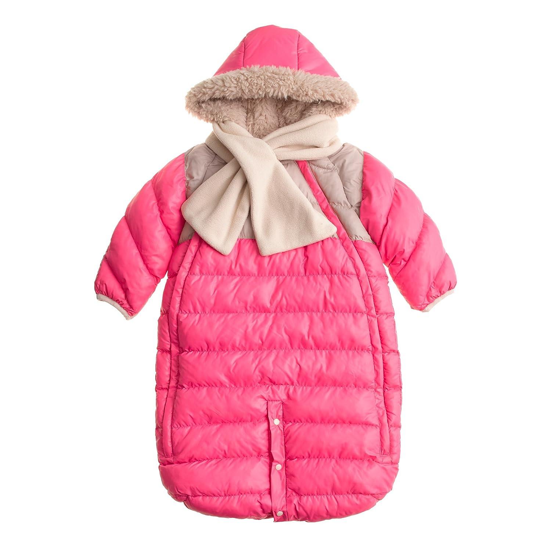 66bf4d1320a3b7 Amazon.com  7AM Enfant Doudoune One Piece Infant Snowsuit Bunting ...