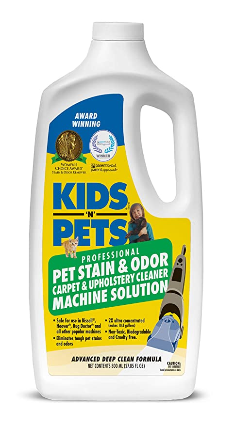 KIDS N PETS Stain and Odor Remover Pet Stain and Odor Carpet and ...