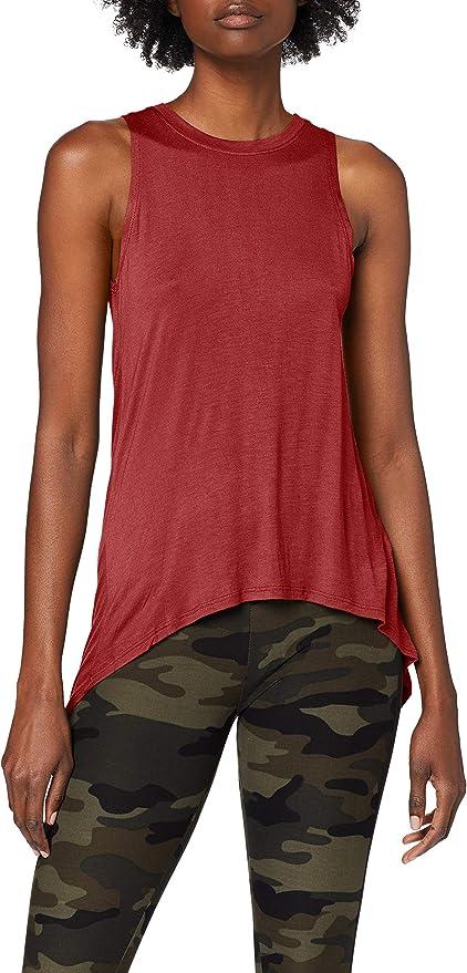 Urban Classics Ladies Hilo Viscose Top Camiseta sin Mangas para Mujer