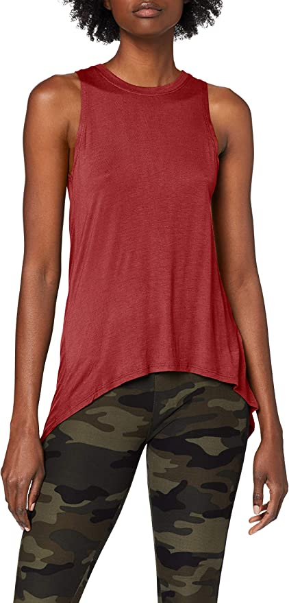TALLA XS. Urban Classics Ladies Hilo Viscose Top Camiseta sin Mangas para Mujer