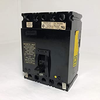 SQUARE D FAL 36100 FAL36100 100A Circuit Breaker 2 Available FREE Shipping