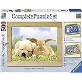 Ravensburger 14890 - Unzertrennlich - 500 Teile Complete Puzzle Set