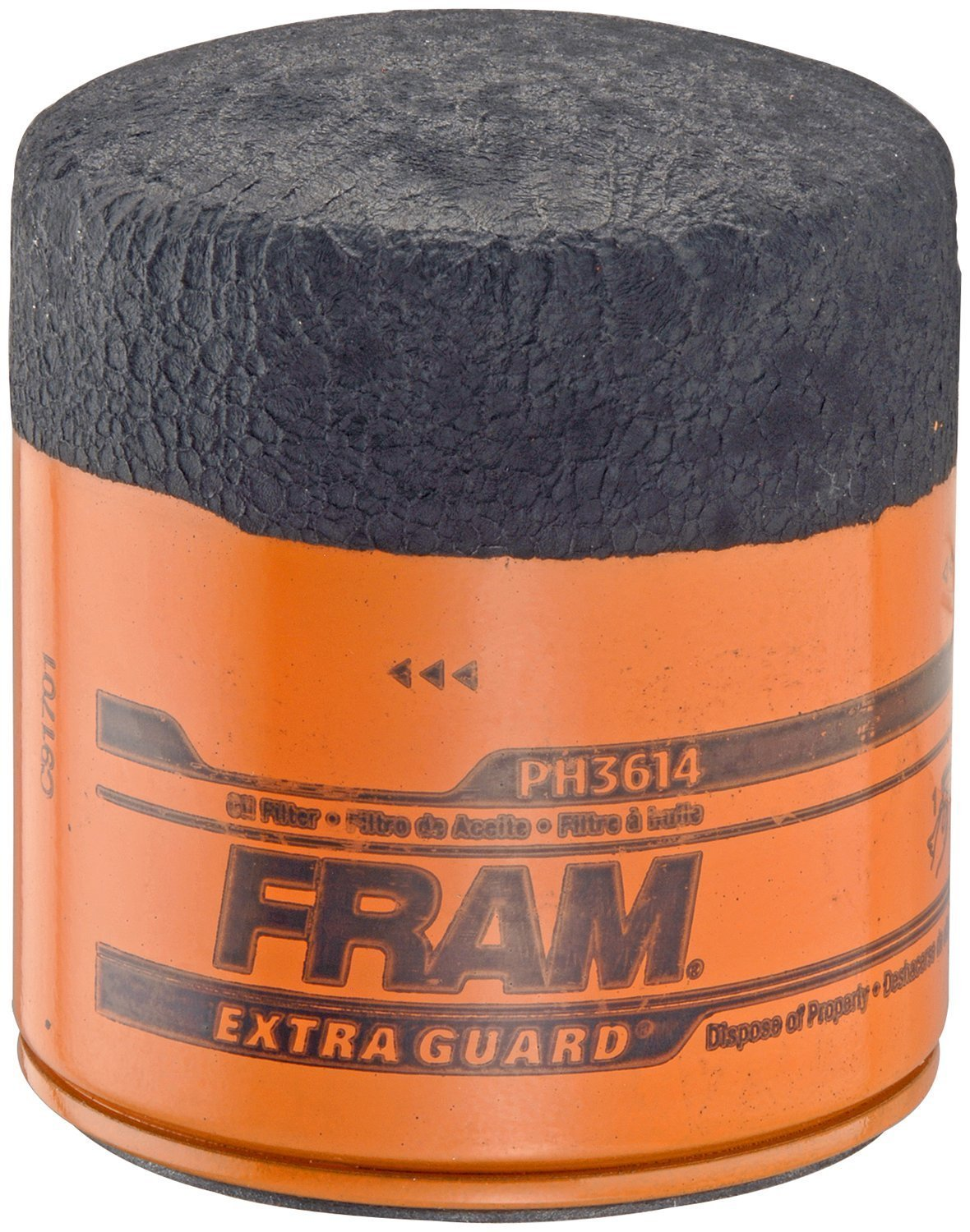 Fram PH3614 Extra Guard Passenger Car Spin-On Oil Filter (Pack of 2)