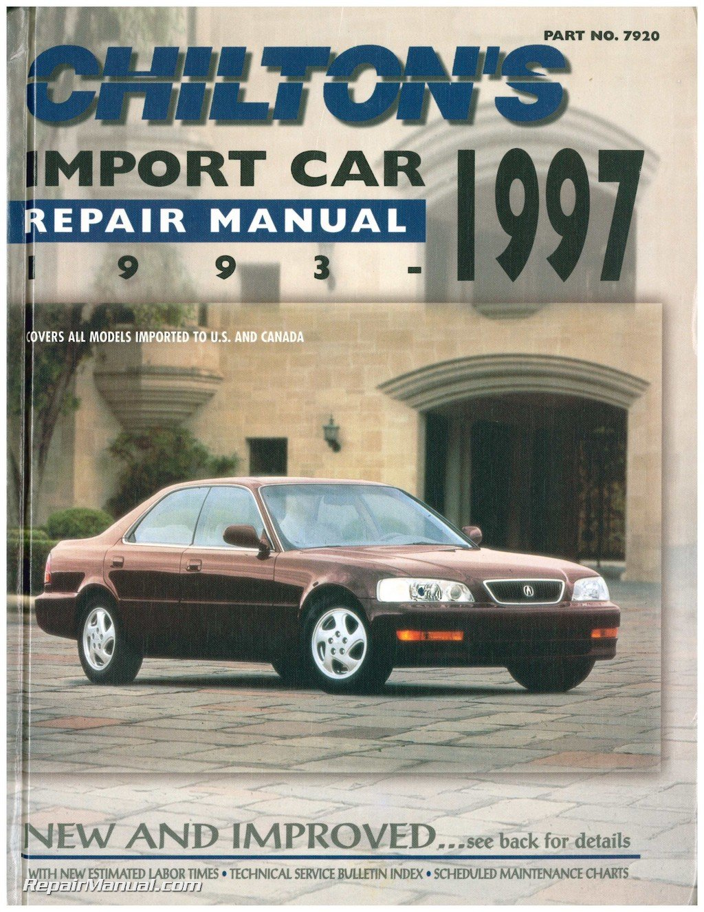 CH7920 Chilton Import Car Repair Manual 1993-1997: Manufacturer:  Amazon.com: Books