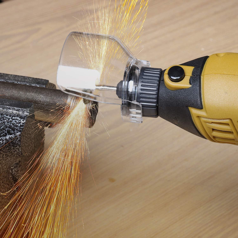 Ginour 109 Accesorios 7 Velocidad M/áxima Variable 8000-35000 RPM Amoladora El/éctrica Moler Lijar Herramienta El/éctrica para Esculpir 170W Herramienta Rotativa multifunci/ón