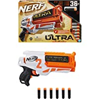 Nerf Ultra 2 Motorized Blaster - US Version - Fast-Back Reloading - 6 Black Nerf Ultra Darts - Compatible Only with Nerf…