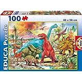 Educa Borras Dinosaurs Puzzle (100 Pieces)