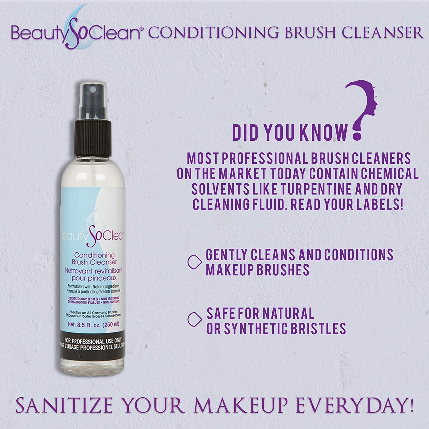 BeautySoClean Conditioning Brush Cleanser