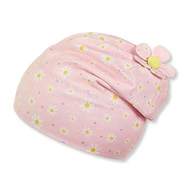 Sterntaler Kinder Mädchen Jersey-Mütze Gr.47-51 Beanie Frühling UV 50+ 0dac583a98c