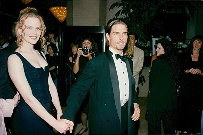 49bae987535b Amazon.com  Vintage photo of Nicole Kidman and Tom Cruise at the ...