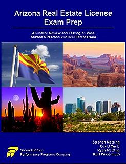 amazon com real estate exam prep pearson vue the authoritative