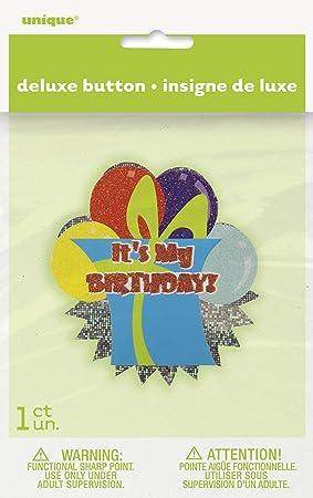 Unique Party Deluxe Envuelto Presente es mi cumpleaños ...
