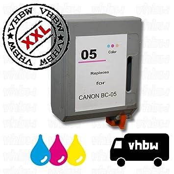 vhbw - Tinta cartucho de tinta color para impresora Canon BJC250 ...
