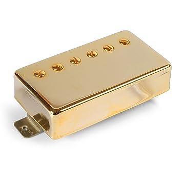 Edad de Oro Parsons calle de pastilla Humbucker para guitarra eléctrica, goldcover con 2 imanes Alnico: Amazon.es: Instrumentos musicales
